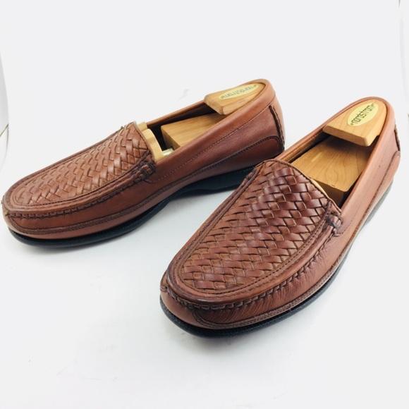 Florsheim Men Loafers Slip On Shoes Tan